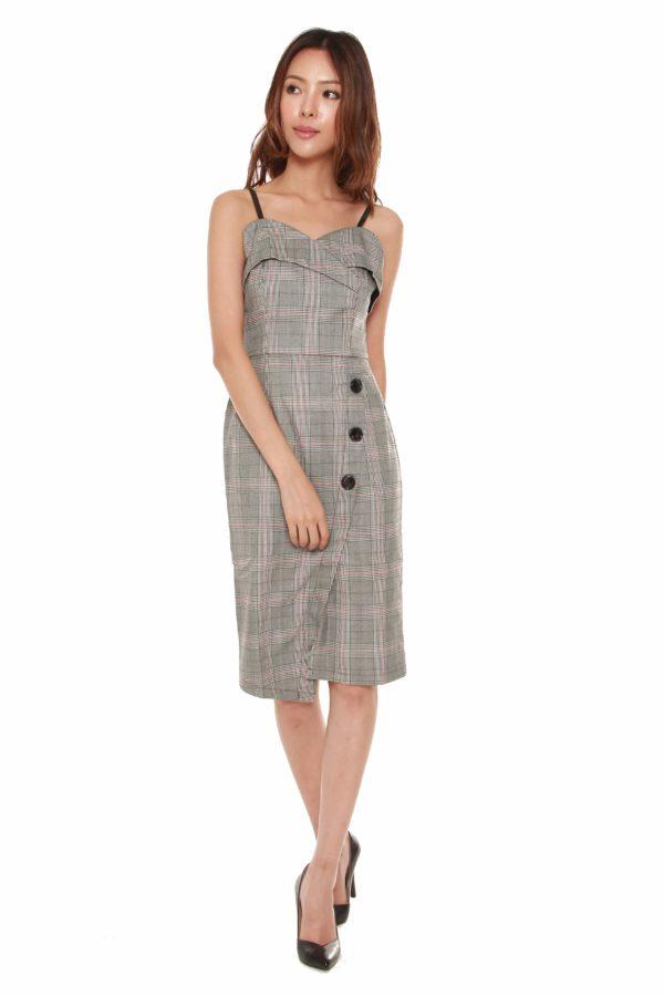 Women Blogshop Aymmetric Dress