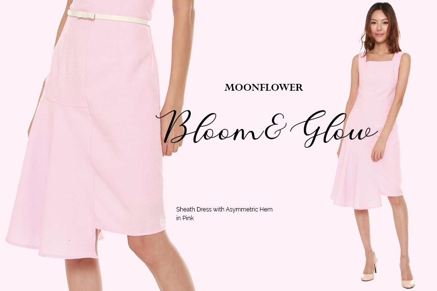 woman blogshop pink dress