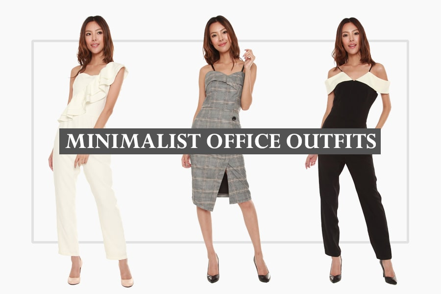 minimalist office outfits for all occasions