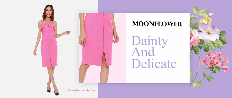 Dainty and delicate blogshop dress
